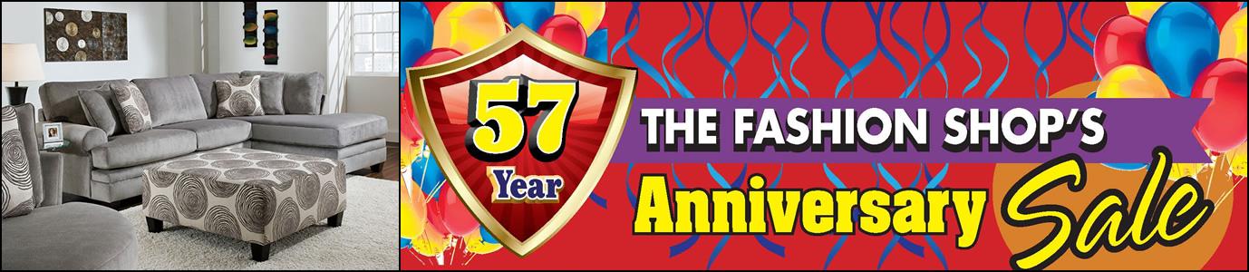 57 Year Anniversary Sale